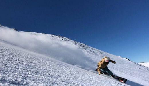 スノーボードアルペン。大谷選手を応援することになりました。